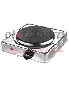 ANAFE 1 H ELECTRICO 1000W A/INOX C/REG.TEMPERATURA - DUROLL