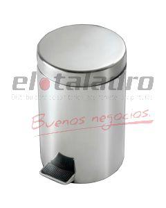 ACCESORIO ACERO INOX. CESTO C/PEDAL 5L.