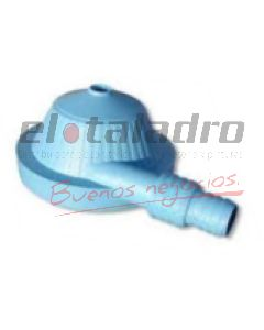 ROCIADOR SAPITO PLASTICO 1/2 x3/4 MALVAR