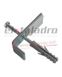 GRAMPA LAVATORIO TIPO L (xPAR) C/TORNILLO Y TARUGO