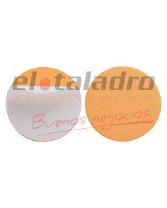 TOPE AUTOADHESIVO REDONDO BEIGE BLISTER x12 Pares