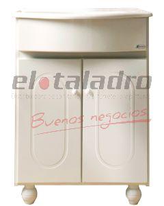 VANITORY BOREAL COMPLETO 50cm C/PATAS
