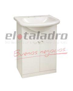 VANITORY LAQUEADO BLANCO 50x30x80 -PRINGLES-