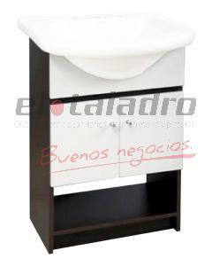 VANITORY LAQUEADO WENGUE 50x30x80 -PRINGLES-