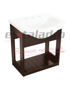 VANITORY COLGAR LAQUEADO WENGUE 50cm -PRINGLES-