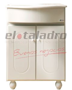 VANITORY BOREAL COMPLETO 60cm C/PATAS