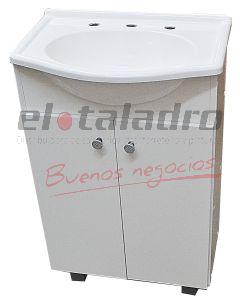 VANITORY ATLANTIC BLANCO 500mm