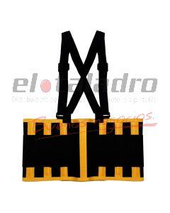 FAJA LUMBAR SEGURIDAD PROFESIONAL (4) TALLE:XL